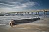Peace in Port A (Sam Weems) Tags: port aransas tx texas sony ilce7 ilce a7 1635 1635mm f4 zeiss log pier sky waves beach coast seascape gulf