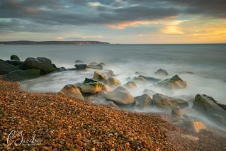 Early evening light - Milford on Sea (Explored)