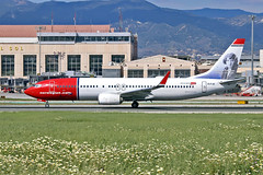 EI-FJE Boeing 737-81D Norwegian Air International Gidsken Jakobsen CS AGP 02-05-18 (PlanecrazyUK) Tags: lemg malaga–costadelsolairport malaga costadelsol eifje boeing73781d norwegianairinternational gidsken jakobsen cs agp 020518