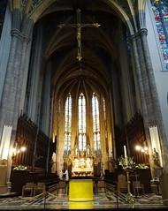 nave y altar mayor interior Catedral San Pablo Cathédrale Saint Paul Lieja Belgica 03 (Rafael Gomez - http://micamara.es) Tags: nave y altar mayor interior catedral san pablo cathédrale saint paul lieja belgica valonia bélgica