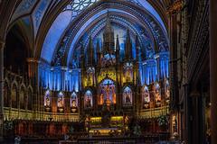 Basillica de Notre Dame (slimjim340) Tags: montrealfuji basillica de notre dame cathederal church stainglasswindow canada