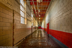 20171120_LANCASTER and WV_20171120-BFF_5031WV Penitentiary_HDR (Bonnie Forman-Franco) Tags: penitentiary abandoned abandonedphotography abandonedprison abandonedpenitentiary westvirginia westvirginiapenitentiary westvirginiaprison prison jail photoladybon bonnie hallway prisonhallway oldanddecayed imprisoned nikon nikonphotography nikond750 hdr red moundsville