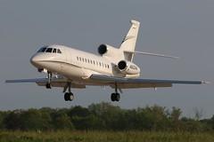 N822WW Dassault Falcon 900EX at KCLE (GeorgeM757) Tags: n822ww falcon900ex georgem757 aircraft alltypesoftransport aviation airport dasssault