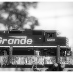 Model Train in B&W thumbnail