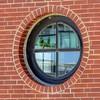 Round Port Window (clarkcg photography) Tags: window round port cross brick ouline windowwednesday