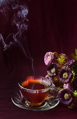 Good Morning... (Sukhi Jabed) Tags: tea drink drinkporn colors conceptulal cookandshoot cooking foodart foodphoto foodista food foodpics foodies foodgraphy foodstyling foodphotography pictures onthetable stilllife nikonphotography 50mmprime bangladesh smoke morning