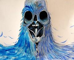 nightmare (Arthur Rx) Tags: monster blue nightmare art