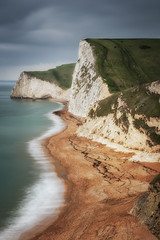Bat's Head (Rich Walker75) Tags: jurassiccoast bat'shead dorset landscape landscapes beach beaches landmarket landscapephotography canon eos80d eos sea coast coastline water longexposure longexposures longexposurephotography greatbritain england cliff sky cloud