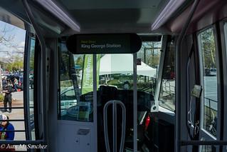 Alstom Surrey LRT Mockup