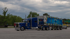 One Of Many (NoVa Transportation Photos) Tags: autism one of many peterbilt 389 manuel trucking winchester va truck trailer conestoga fitzgerald glider