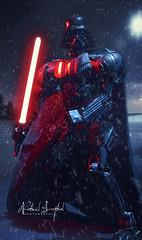 Lego Darth Vader (Nabeel Iqbal) Tags: lego darth vader star wars villain all times time luke sky walker movie light saber breathing storm snowing mission danger canon 6d photography 85mm f18 still object