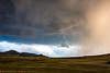 Staying Grounded (O.S. Fisher) Tags: antelopeisland greatsaltlake blue clouds island lightning magenta mountains stormambient
