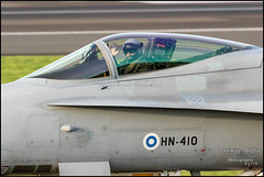 HN-410 (Taxiway Alpha Photography) Tags: pik prestwick egpk gbuk alba scotland prestwickairport prestwickinternationalairport aviation canon eos 7d 7dmkii jet aircraft aeronuatics aeroplane fighter mcdonneldouglas f18 f18c hornet finnishairforce military hn410