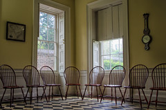 """Have A Seat"" (Photography by Sharon Farrell) Tags: nathanielrussellhouse charleston charlestonsc charlestonsouthcarolina charlestowne 51meetingstreet historichouse southofbroad usnationalregisterofhistoricplaces usnationallandmarkplaces"