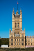 Victoria Tower | Neo Gothic (James_Beard) Tags: victoriatower gothic neogothic architecture londonarchitecture londonlandmarks housesofparliament palaceofwestminster blueskies fujixt2 fujinon55200
