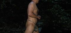Camo1 (swmlvr) Tags: jungle river water bikini bulge
