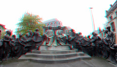 Ghent Belgium 3D GoPro (wim hoppenbrouwers) Tags: ghent belgium 3d gopro anaglyph stereo redcyan gent gand