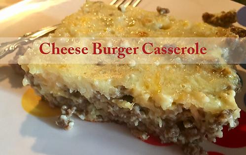 Cheese Burger Casserole
