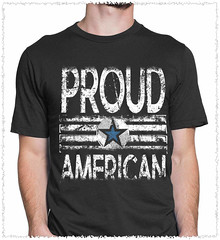 Proud American. Loud and Proud. Gildan Ultra Cotton T-Shirt. Black.  | Loyal Nine Apparel (LoyalNineApparel) Tags: americafirst army coastguard comeandtakeit defendthe2nd dtom firearm firearms guns gunsdaily happy igguns instastyle libertarian loyalnineapparel loyalnineclothes makeamericagreatagain menfashion nfa patriot pewpew practice rifleholics safetyfirst teaparty teapartyrepublican threepercenter veteran veterans weaponsdaily