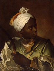 Hyacinthe Rigaud Young Man With a Bow France (c. 1697) Oil on Canvas, 56.8 × 43.7 cm Musée des Beaux-Arts de Dunkerque (medievalpoc) Tags: hyacinthe rigaud updated info art history medievalpoc france 1600s painting portrait image