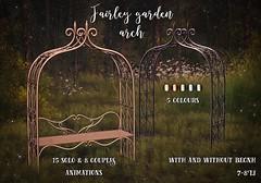 Fairley garden arch @Cosmo (Keira Raindale) Tags: secondlife raindale cosmopolitan