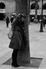 """Delphine Gidoin, photographer"". Now it is time for the photoshoot. Plaça Reial, Barcelona. (heraldeixample) Tags: heraldeixample bcn barcelona spain espanya españa spanien catalunya catalonia cataluña catalogne catalogna noia girl chica fille menina mädchen merch cailín ragazza pige девушка fată 女の子 jente 女孩 κορίτσι maca bella pretty guapa jolie beautiful belle fermosa 美しい女性 frumoasă 美丽的女人 dona woman mujer frau femme fenyw bean donna mulher femeie 女人 kadın женщина หญิง boireannach kobieta plaçareial plazareal royalsquare fotògrafa photographer photoshoot clic delphinegidoin gidoin ngc nationalgeographic albertdelahoz"