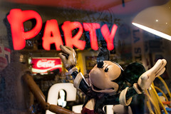 Let's party. With music, coke, and all. (Phototravelography) Tags: dirigent italia italy lombardei lombardia lombardy mailand mickeymouse milano orchester party antique cocacola colours conductor director fun mannequin milan old orchestra puppet red shoppingwindow vintage flickrfriday signofthetimes