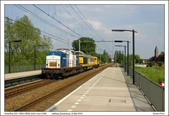 VR 203-1+BSH WRDk+2454 - Halfweg - 51966 (23-05-2018) (Vincent-Prins) Tags: volkerrail 2031 v100 halfweg zwanenburg wrdk 2454 bsh