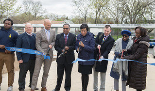 April 17, 2018 HD Woodson Solar Ribbon Cutting