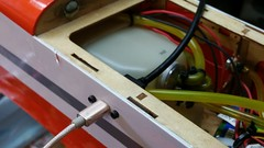 Panel mount USB extension - Plugged in - 03 (JD and Beastlet) Tags: