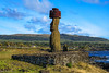 On the ritual platform of Ahu Tahai / На ритуальной площадке Аху Тахаи (Vladimir Zhdanov) Tags: travel chile polynesia rapanui easterisland hangaroa ahutahai sky cloud ocean water wave moai sculpture