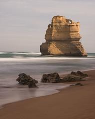 Lone Apostle (stevecart84) Tags: rock sea apostles 12apostles greatoceanroad gibsonsteps longexposure sand apostle seascape landscape nature outdoors nikon d7200