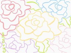 ROSES (sherrywestart) Tags: digital roses flowers pink yellow blue purple red sherry sherrywestart ipad pro leaves green spring summer garden nature beauty doodle sketch illustration art painting drawing illustrator artist colors