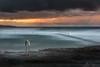Breakthrough (AegirPhotography) Tags: sunrise dawn landscape seascape ocean sea water coast clouds sky rocks railing cronulla beach pool sydney australia