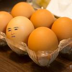 Self portrait as egg (たまごみたいな自撮り)