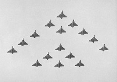 64 Squadron 50th Anniversary Fly Past RAF Tengah Singapore July 1966 (kerrydavidtaylor) Tags: