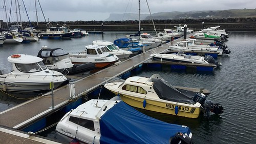 Ballycastle harbour, County Antrim, Northern Ireland