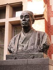 IMG_2195 (UJIKE Norio) Tags: japan tokyo minatoku keio university hukuzawa yukichi hukuzawayukichi iphone 5s startingpoint lwp
