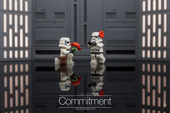 Commitment (Ballou34) Tags: 2017 7dmark2 7dmarkii 7d2 7dii afol ballou34 canon canon7dmarkii canon7dii eos eos7dmarkii eos7d2 eos7dii flickr lego legographer legography minifigures photography stuckinplastic toy toyphotography toys stuck in plastic 2018 7d mark 2 ii eos7d puteaux îledefrance france fr sipgoes52 starwars star wars sw stormtrooper stormtroopers commitment love flower ring flowers