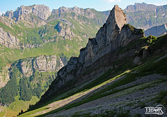 Appenzell Alps (morbidtibor) Tags: switzerland mountains säntis hiking alps appenzell alpstein