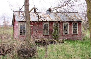 Abandoned Home - Bazile Mills, Nebraska