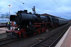 52 1360 met trein richting Gerolstein (vos.nathan) Tags: werratalbahn deutsche bundesbahn db br 52 baureihe 1360 kriegslok trier hbf hauptbahnhof