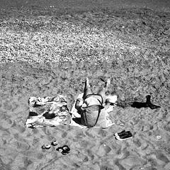 Spiagge (alessandrochiolo) Tags: estate spiaggia mare sea monochrome blackandwhite sicily