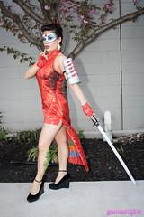 Bombshell Katana cosplay (The Doppelganger) Tags: katana cosplay cosplayer dccomics bombshell legs sexycosplay thegreatphiladelphiacomiccon gpcc gpcc2018