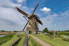 Windmill, Kinderdijk, Molenwaard, Netherlands (rmk2112rmk) Tags: windmill kinderdijk molenwaard netherlands architecture building holland dutch