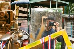 (getawaywjas) Tags: film hongkong newterritories mirror camera