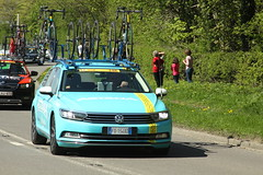 Astana (Steve Dawson.) Tags: tourdeyorkshire mens cycle race bikes uci tdy teamcars stage3 richmondtoscarborough randgrange yorkshire england uk canoneos50d canon eos 50d ef28135mmf3556isusm ef28135mm f3556 is usm 5th may 2018