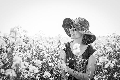 Rapeseed Fields lady