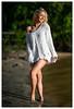 Natalie - Glo (jfinite) Tags: model beauty fashion spring swimwear swimsuit sweater blonde