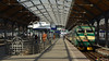 The last train home (Szymon Simon Karkowski) Tags: inside station platform train concourse trip people kiss farewell lower silesia voivodeship wroclaw poland nikon d5100